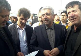 وزیر نیرو راهی آذربایجان غربی شد