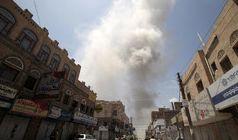 حمله هوایی به پایگاه الدلیمی در شمال صنعاء