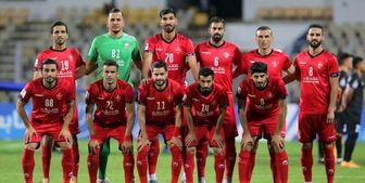 نظر روزنامه عربی دربار ه بازی پرسپولیس-گوا