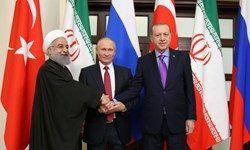 برگزاری نشست رؤسای جمهور ایران، روسیه و ترکیه درباره سوریه
