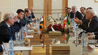 دیدار وزیر خارجه سوریه با ظریف