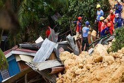 تلفات سیل و رانشزمین در فیلیپین به ۷۵ نفر رسید
