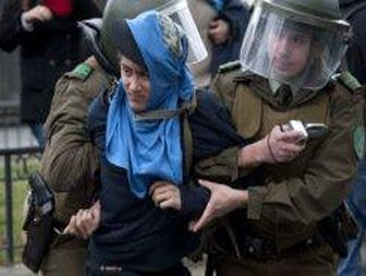 ۱۱۳ arrested in Chile student protests