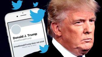 حساب کاربری توئیتر  کمپین انتخاباتی ترامپ تعلیق شد