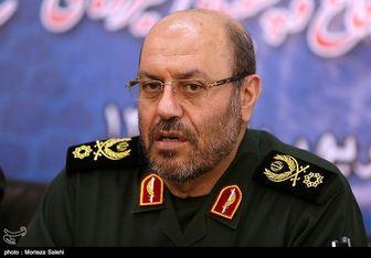 وزیر دفاع وارد مازندران شد