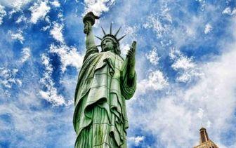 تحریف شعر مجسمه آزادی آمریکا جنجالی شد
