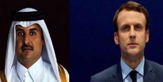 گفتوگوی تلفنی امیر قطر و ماکرون درباره لیبی