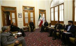 ارائه گزارش عملکرد پلیس در دیدار با رئیس مجلس