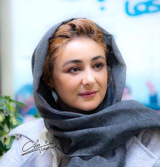 تیپ خاص «ویدا جوان» در جشنواره فجر 38/ عکس