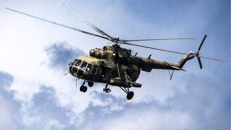سقوط بالگرد نظامی روسیه