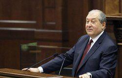 برگزاری مراسم تحلیف رییس جمهور جدید ارمنستان