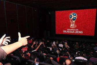 کاهش استقبال از پخش فوتبال در سینماها
