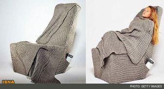 این صندلی زمستانی را بپوشید! + عکس