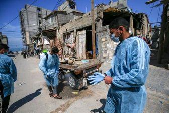 افزایش شمار مبتلایان به کرونا در نوار غزه