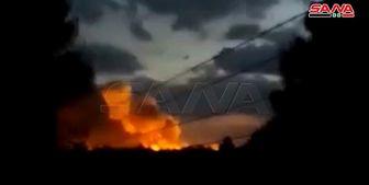 انفجار انبار تسلیحات نیروهای دموکراتیک سوریه