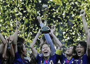یک میلیون ین جایزه نقدی بازیکنان تیم ملی فوتبال زنان ژاپن