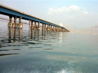 مساحت دریاچه ارومیه به 2700 کیلومتر مربع رسید
