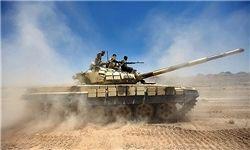 نصب سامانه هوشمند انحراف موشک برروی ادوات زرهی ارتش
