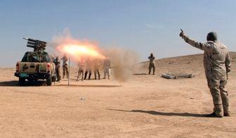 سقوط پرنده جاسوسی داعش / فیلم