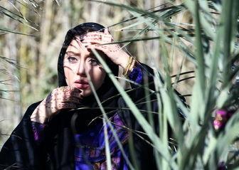 ظاهر متفاوت «بهاره کیان افشار» روی پوستر یک فیلم/ عکس
