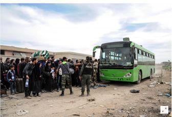 خروج بیش از 3500 نفر غوطه شرقی