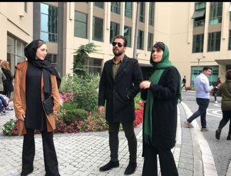"""هم بازی شدن """"پژمان بازغی"""" با بازیگران مطرح سینمای ترکیه/ عکس"""