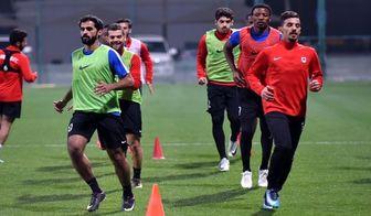 آخرین تمرین الریان قطر پیش از بازی با استقلال+تصاویر