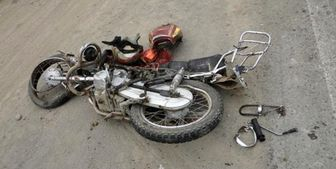واژگونی موتورسیکلت با دوکشته