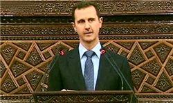 بشار اسد در جشن میلاد پیامبر(ص)