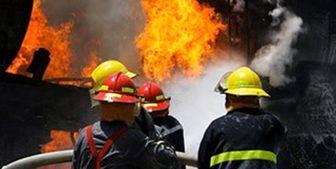 آتشسوزی شبانه در بازار بزرگ تهران/ عکس