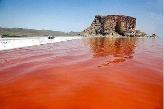 افزایش سطح تراز آب دریاچه ارومیه نسبت به روز مشابه در سال گذشته