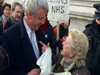وزیر بهداشت انگلیس هو شد