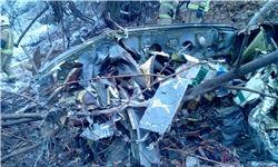 تصاویر دیده نشده از بالگرد سقوط کرده