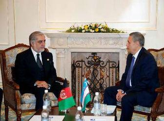 ازبکستان در ساخت جاده و خط آهن در افغانستان سرمایه گذاری می کند