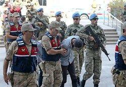 ۷۰ نظامی به اتهام ارتباط با کودتای نافرجام ترکیه دستگیر شدند