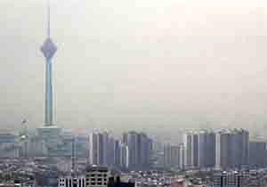 هوای آلوده برای سومین روز متوالی مهمان پایتخت نشینان است