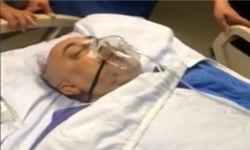 علیاکبر صالحی روی تخت بیمارستان + فیلم
