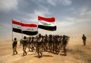 حضور نیروی واکنش سریع عراق برای مقابله با داعش