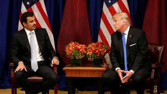 آب پاکی امیر قطر روی دستان ترامپ درباره ایران