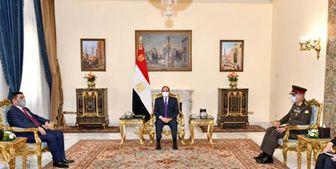 وزیر دفاع عراق با رئیسجمهور مصر دیدار کردند