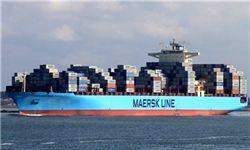 توقیف کشتی مرسک به دلیل بدهی به شرکت ایرانی بود