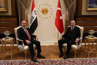 تماس تلفنی اردوغان با نخستوزیر عراق