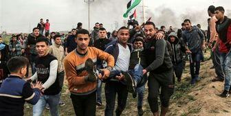 5 فلسطینی را در راهپیمایی بازگشت مجروح شدند