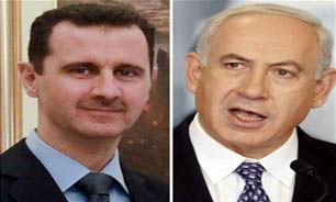 """پاسخ """" نتانیاهو """" به نامه """" بشار اسد """""""
