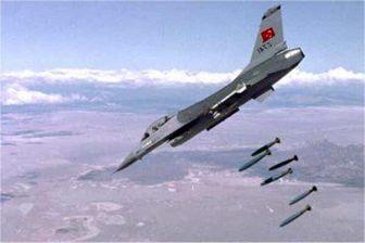 بمباران مواضع پکک در شمال عراق