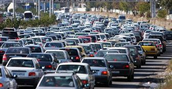 ترافیک سنگین در مسیر شرق به غرب نوبنیاد و بزرگراه همت
