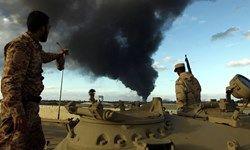 نیروهای ارتش لیبی فرودگاه بنغازی را تخلیه میکنند