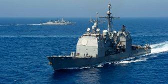 اقدام تاکتیکی فرمانده ناوگان پنجم دریایی آمریکا در بحرین