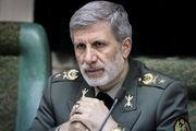 وزیر دفاع: هر تهدیدی از جانب اسرائیل را مستقیما پاسخ میدهیم