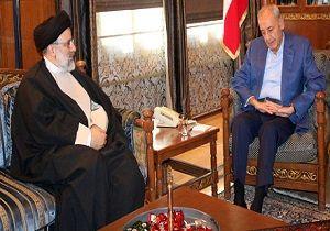 رئیسی در دیدار با رئیس مجلس لبنان چه گفت؟